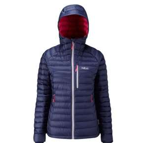 Rab womens microlight alpine jacket £106.40 with code at Ultimate Outdoors