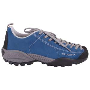 Scarpa Mojito GTX leather hiking shoes, Vibram soles, blue, £63.17 with code @ Alpinetrek.co.uk Free delivery