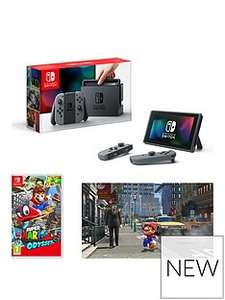Nintendo Switch + Game £300.97 (£30 off with Very)