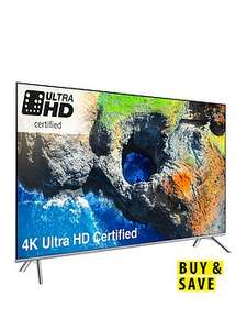 Samsung UE55MU7000TXXU 55 inch, 4K, HDR 1000 + Samsung UBD-M9000/XU , Everest and Planet Earth II £979.99 BUT £879.99 with £100 back on 12M bnpl