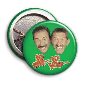 Fashionista's this will be the must have for 2018, an absolute bargain with free P+P. - Chuckle Brothers Badge - £1.59 @ themoochroom ebay