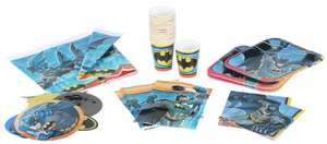 Batman Party Pack for 16 £5.99 Del / Despicable Me Minions Red Party Pack for 16 Guests £4.99 Del @ Argos Ebay (more in OP inc Disney Princess / Spiderman)