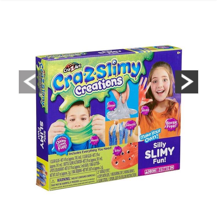 Cra-Z-Art Cra-Z-Slimy Creations Silly Slimy Fun Kit £15.99 @ Very - Free c&c (in stock 24th nov)