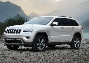 Jeep Grand Cherokee, from £435/month with 0% apr and £8500 deposit contribution.