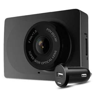 YI Car Dashboard Camera (1080p, Wide Angle Lens, 1.8 Aperature, Loop Recording, H.264 Format) £22.58 Delivered @ JoyBuy