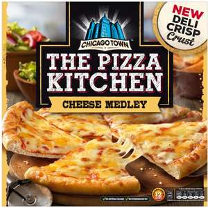 Chicago Town The Pizza Kitchen Cheese Medley (350g) was £3.00 now any 2 for £3.00 (This is part of a new range of Pizzas from Chicago Town) @ Ocado