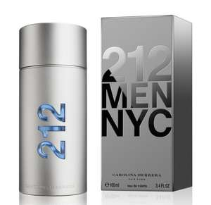 212 for Men NYC 100ml EDT - £29.95 (Prime exclusive) at Amazon