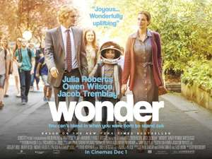 Wonder - Free Screening 13th November, Lots of cinemas.