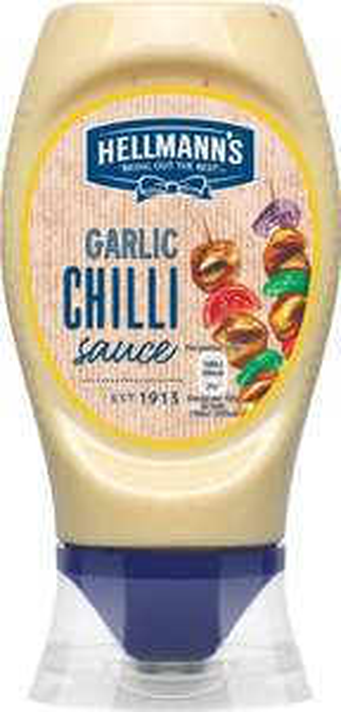 Hellmann's Hot Garlic Chilli Sauce (256ml) ONLY 87p @ Waitrose
