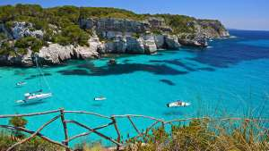 2 Adults Return Flights to Menorca (Mahon) July 2018 - 9 nights - EasyJet from Luton £86 (£43pp)