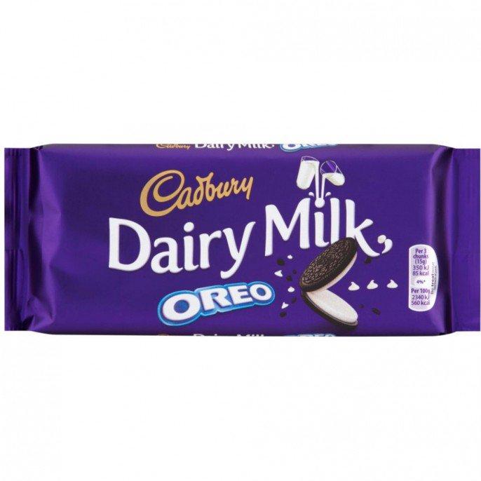 Cadbury Dairy Milk - Oreo (185g) ONLY 25p @ Poundstretcher