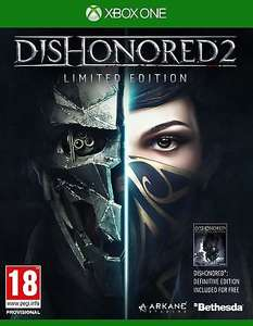 Dishonored 2 - limited edition xbox one £9.95 @ ShopTo/Ebay