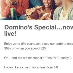 Dominos Special from Quidco