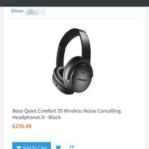 Bose QC35 mk II for £276 @ UKDapper