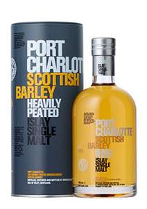 Bruichladdich Port Charlotte Scottish Barley Whisky, 70 cl  Great price for a great whisky - £37.99 @ Amazon