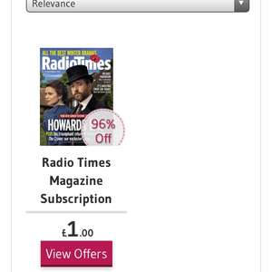 Radio times - 10 issues for £1. Including Christmas special