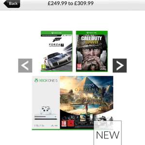 (Another!) XBOX ONE S 1TB - COD - Forza 7 - Assassins Creed - Rainbow Six - £249.99 @ Very