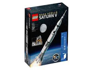 LEGO® NASA Apollo Saturn V 21309 Back order - £94.99