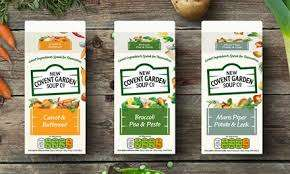 Covent Garden Soup £1 at Asda and Morrisons, Free using £1 off coupon
