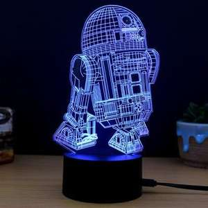 R2D2 lamp only £5.34 @ gearbest