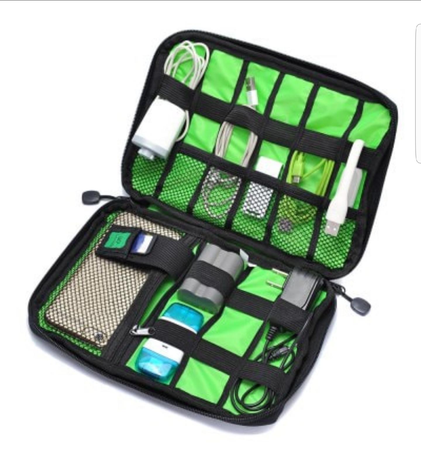 Digital Accessories Storage Case Travel Organizer Bag - £2.38 @ Gearbest