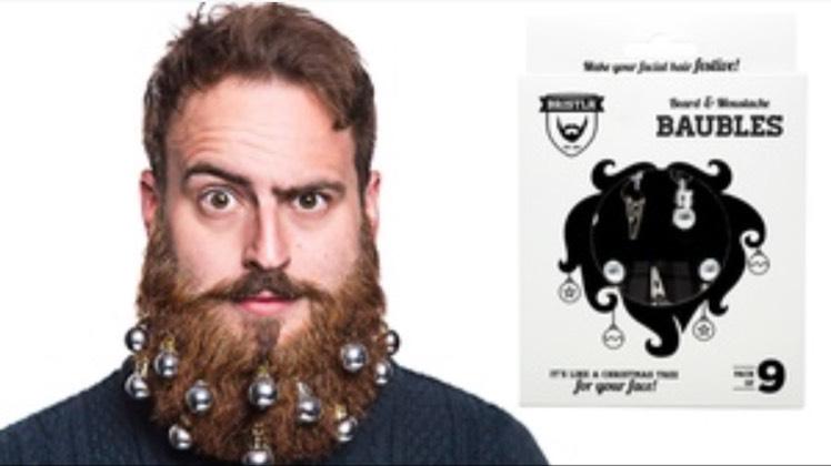 Bristlr Beard Baubles £3.98 + £1.99 postage at Groupon