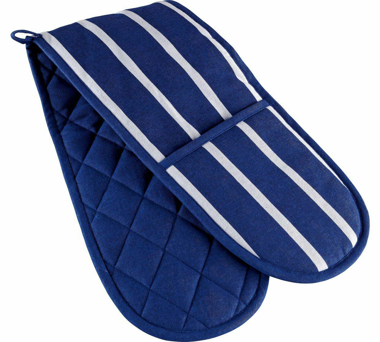 HOME Butchers Stripe Double Oven Cotton Glove £2.49 Argos