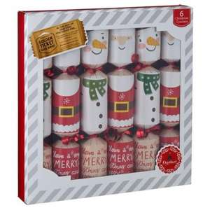 Crackers (Various Christmas Packs) 6 pack £1 @ Poundland instore