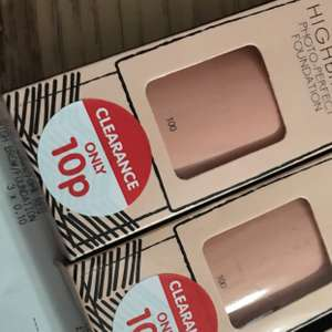 High brow foundation 10p in b and m