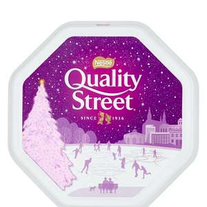 Quality street 1.2kg metal tin nostalgia edition £7.50 @ amazon - add on item