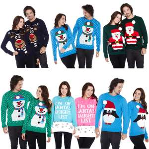 BOGOF on Christmas Jumpers Add Any 2 to basket from £10.99 @ eBay / guaranteed4less