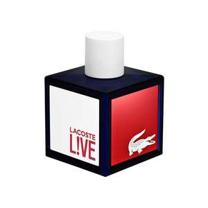 Lacoste Live Male Eau de Toilette Spray 100ml £20 @ Fragrance Direct