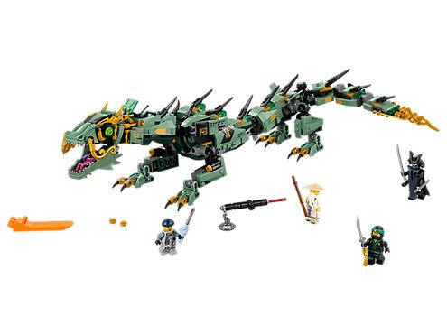 LEGO 70612 Ninjago Movie Green Ninja Mech Dragon £36.99 smyths toys
