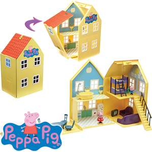 Peppa Pig Deluxe House RRP £29.99  £19.99 C+C @ Home Bargains