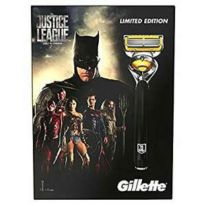Wilko instore - Gillette Fusion ProShield Men's Razor Gift Set Justice League Limited Edition, + 4 Blade Refills - £6.50