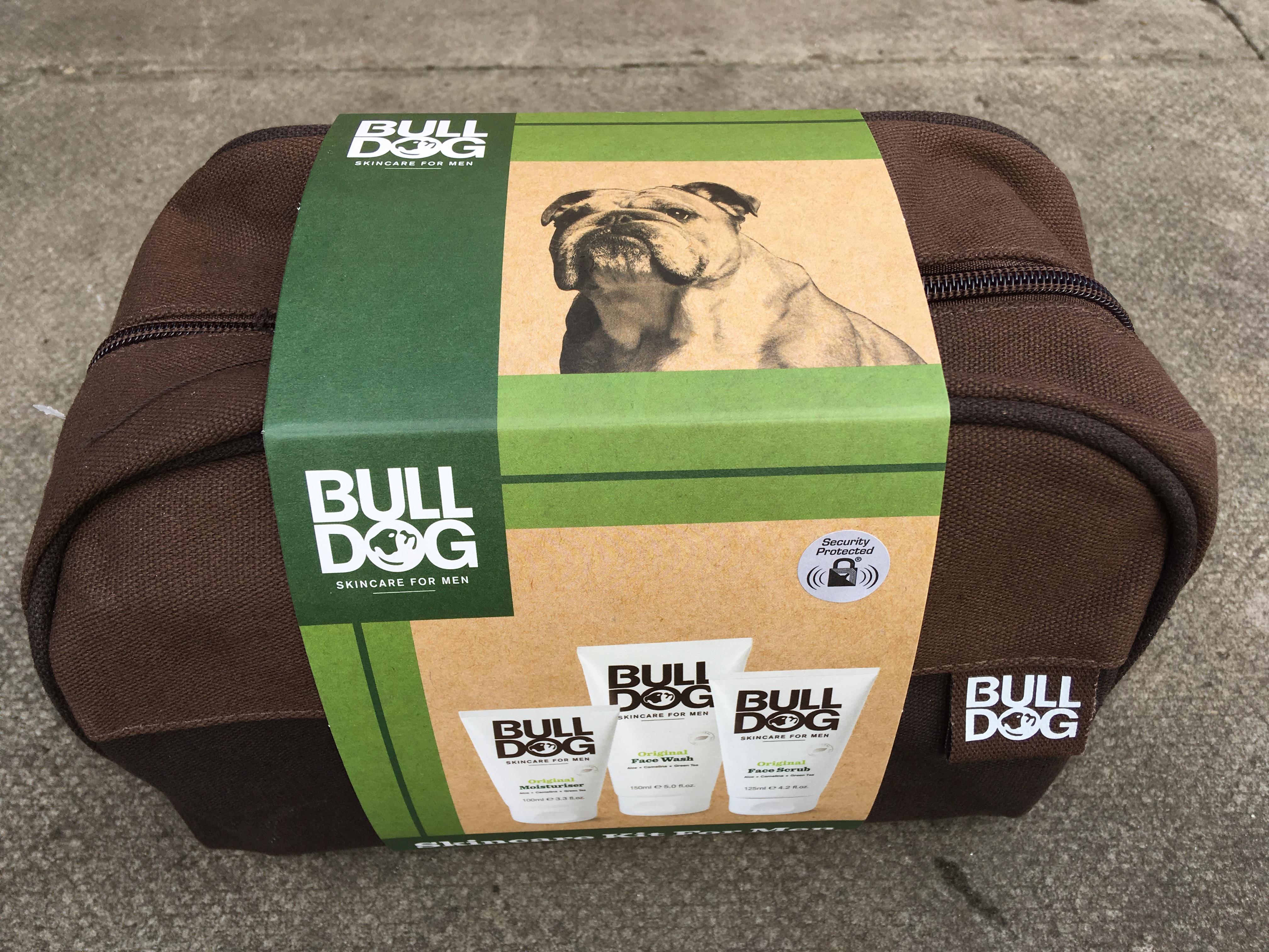 Bulldog 3 in 1 skincare kit + Bag (facewash,scrub and moisturiser) - £7.50 @ Tesco
