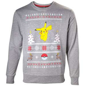 Pokemon Christmas Jumpers 50% off now £17.49 (£1.99 delivery or spend £20+) at Nintendo UK Store