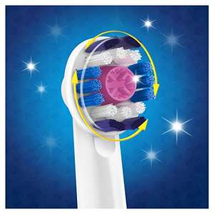 Oral-B 3D White Toothbrush Heads Pack £6.99 Amazon - Prime Exclusive