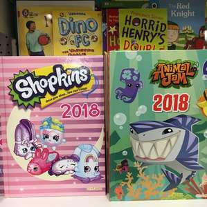 Shopkins 2018 annuals - £1 instore at Poundland