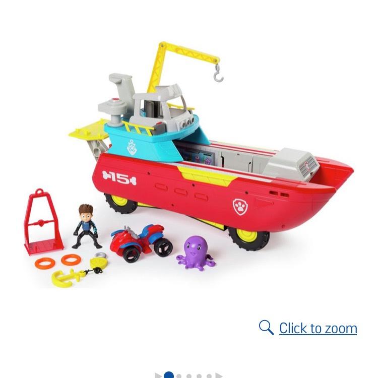 Paw patrol Sea patroller - £55.99 @ Argos