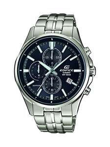 Casio Edifice Watch with Sapphire Glass and Stainless Steel Bracelet EFB-530D - £94.10 @ Amazon