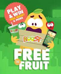 FREE Boost Tropical Fruit Smoothie!