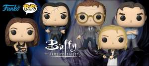 Buffy The Vampire Slayer Funko Pops (Pre Order) - £38.99 @ Forbidden Planet