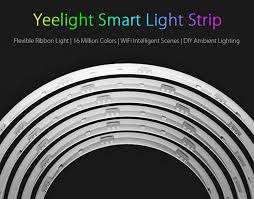 Xiaomi Yeelight Lightstrip, works with Alexa, Google Home and IFTTT - £20.72 @ GearBest