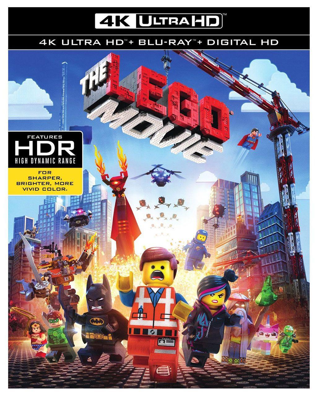 [4K Blu Ray] The Lego Movie - £4.99 - eBay/Boss Deals
