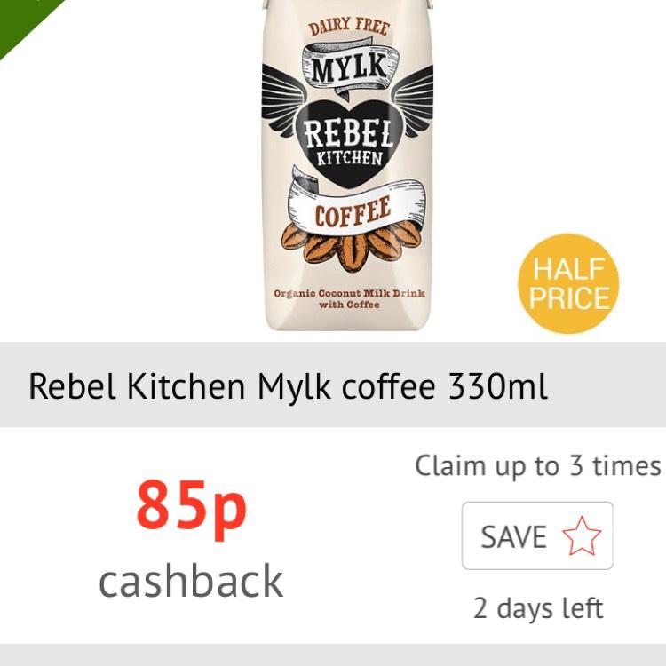 Half Price Rebel Kitchen Mylk Coffee via checkoutsmart