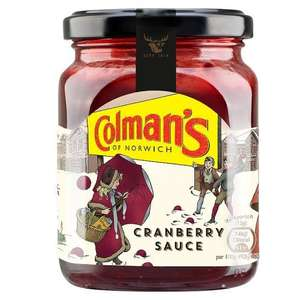 Colmans Cranberry Sauce 265g - 2 for £1 @ Heron (BB 02/18, so ideal to stock up for xmas!)