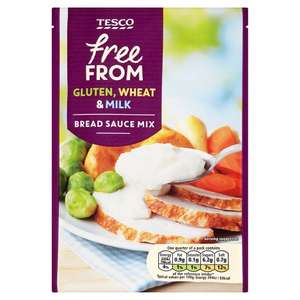 Tesco Free From Bread Sauce 40G (Gluten, Wheat, Milk free)  - 18p @ Tesco (Earlestown)