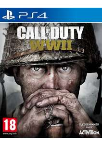 Call of Duty: WWII on PlayStation 4 & Xbox One £39.99 @ Simply Games