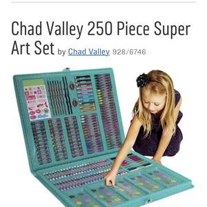Chad Valley 250 Piece Super Art Set £5.99 @ Argos